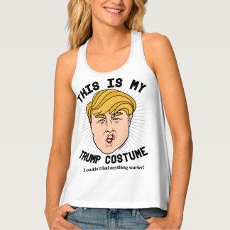 Dieses ist mein Donald- Trumpkostüm - ich könnte Tanktop