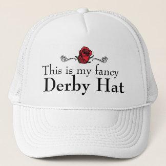 Dieses ist mein extravaganter Derby-Hut Truckerkappe
