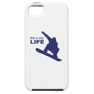 Dieses ist mein Leben (Snowboarding) Schutzhülle Fürs iPhone 5