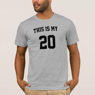 Dieses ist mein T - Shirt 20