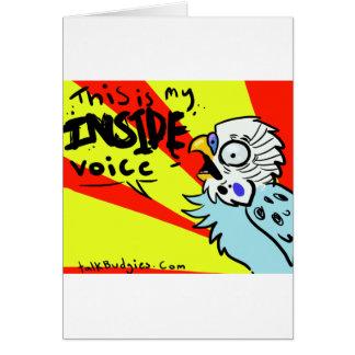 Dieses ist meine innere Stimme Karte