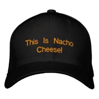 Dieses ist Nacho-Käse! Bestickte Baseballkappe