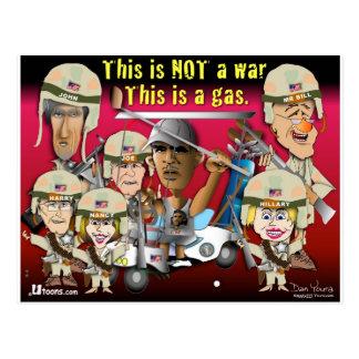 Dieses ist nicht ein Krieg Postkarte