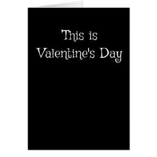 Dieses ist Valentinstag Karte