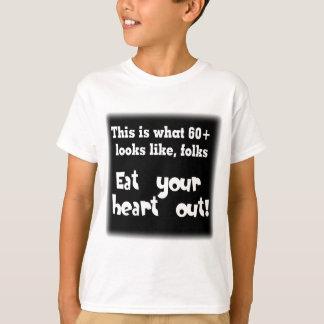 Dieses ist, was 60 Blicke mögen T-Shirt