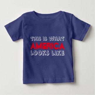 Dieses ist, was Amerika wie Baby-T-Stück aussieht Baby T-shirt