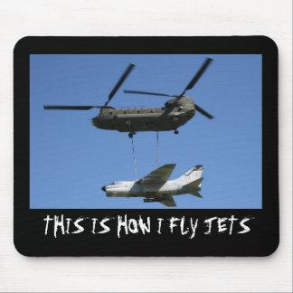 Dieses ist, wie ich Jetmousepad fliege Mousepads