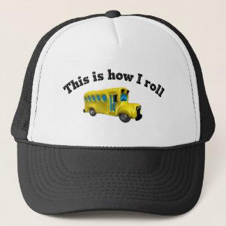 Dieses ist, wie ich rolle truckerkappe