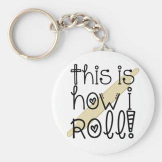Dieses ist, wie ich Schlüsselkette rolle Schlüsselanhänger