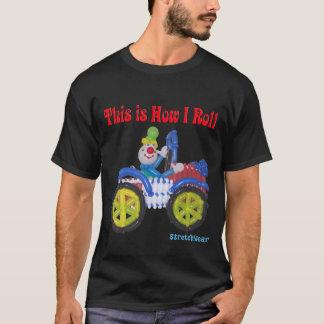 Dieses ist, wie ich Shirt mit Ballon-Clown im Auto
