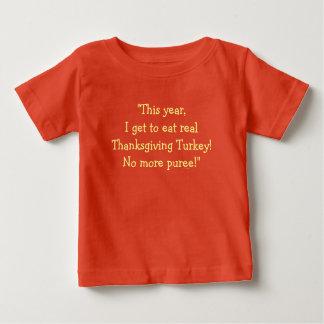 """""""Dieses Jahr, erhalte ich, die wirkliche Türkei zu Baby T-shirt"""