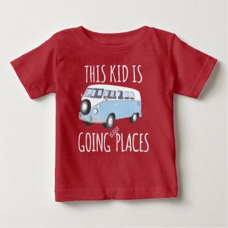 Dieses Kind ist gehende coole Plätze Baby T-shirt