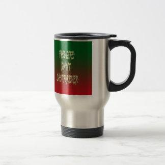 Dieses Leben-Don ` t Letzt-für immer Grün und Rot Tee Haferl
