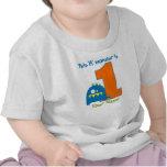 Dieses Lil Monster-erste Geburtstags-Shirt