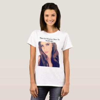 Dieses Mädchen kann zu Wallride! T-Shirt
