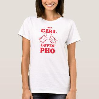 Dieses Mädchen-Lieben Pho T-Shirt