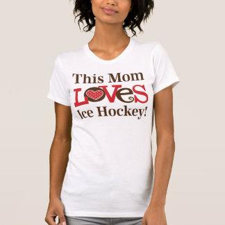Dieses Mamma-Liebe-Eis-Hockey T-Shirt