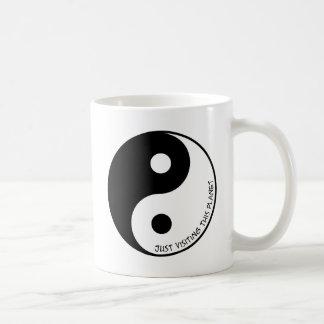 Dieses Planeten gerade besuchen Kaffeetasse