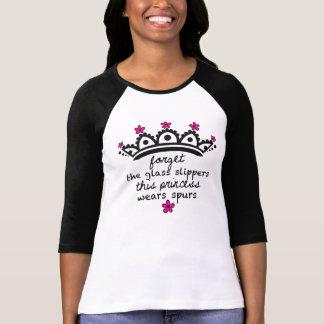 Dieses Prinzessin Wears Sporn-Baseball T-Shirt
