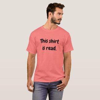 Dieses Shirt wird gelesen