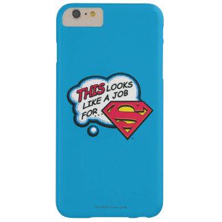 Dieses sucht wie ein Job nach Supermann Barely There iPhone 6 Plus Hülle