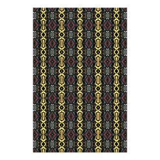 Digital abstrakter Art. Imperial Pattern Flyers