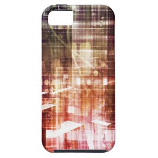 Digital-Bilder mit Datennetz-Übergangskunst Schutzhülle Fürs iPhone 5