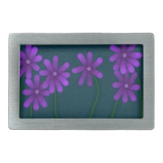 Digital-Blumen-Rechteck-Schnalle Rechteckige Gürtelschnalle