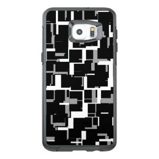 Digital-Camouflage-Schwarz-weißes graues Muster