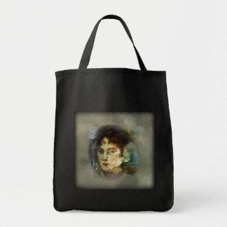 Digital-Collage durch eine Taschen-Tasche E Ivey Einkaufstasche