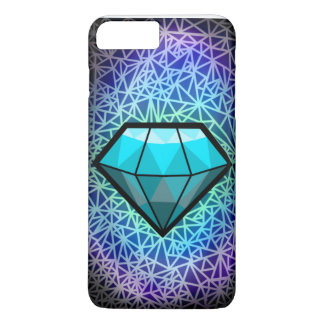 Digital-Diamant-Telefon-Kasten iPhone 8 Plus/7 Plus Hülle