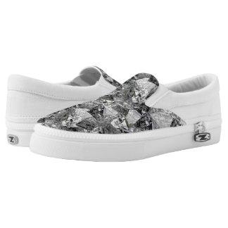 Digital-Diamanten - Beleg-Auf Turnschuhen Slip-On Sneaker
