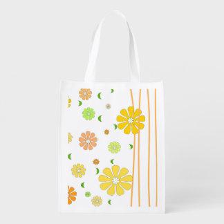 Digital Flower design Einkaufsbeutel