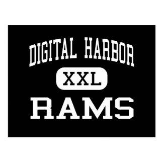 Digital-Hafen - RAMs - hoch - Baltimore Maryland Postkarte