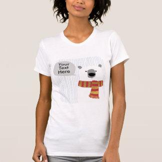 Digital-Hand, die Bären zeichnet, schaffen Ihren T-Shirt