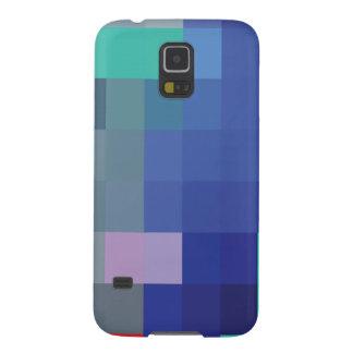 Digital-Kunst-blaues Rot-geistige Telefon-Hüllen Samsung S5 Hülle