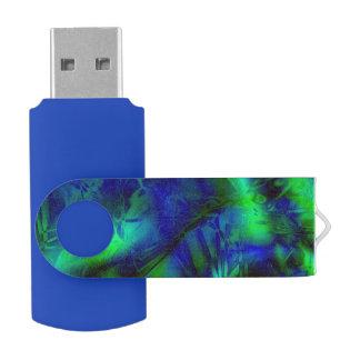 Digital-Kunst-cooles modernes abstraktes Muster USB Stick