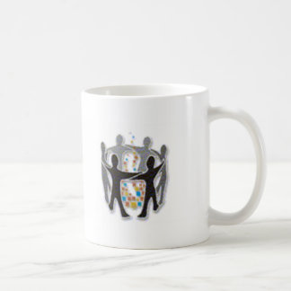 Digital-Lagerfeuer-Presse Kaffeetasse
