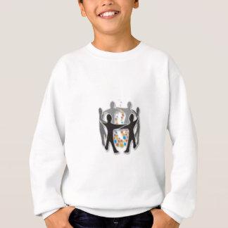 Digital-Lagerfeuer-Presse Sweatshirt