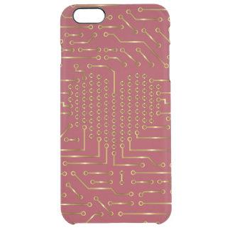 Digital-Liebe Hallo-Technologie   iPhone 6 Durchsichtige iPhone 6 Plus Hülle