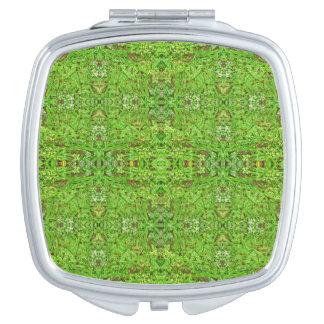 Digital-Natur-Collagen-Muster Schminkspiegel