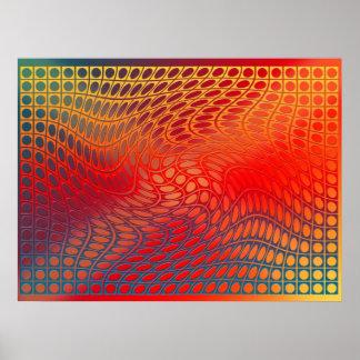Digital OP-Kunst - Toreadortanz Plakate