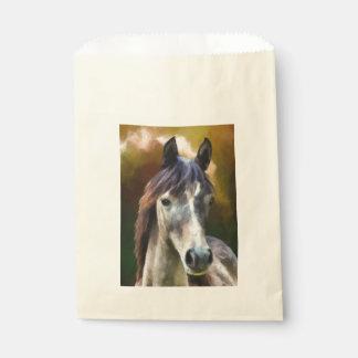 Digital-Pferdeporträtmalerei Geschenktütchen