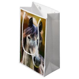 Digital-Pferdeporträtmalerei Kleine Geschenktüte