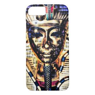 Digital-Pixel-ägyptischer Pharao-König Art iPhone 8/7 Hülle
