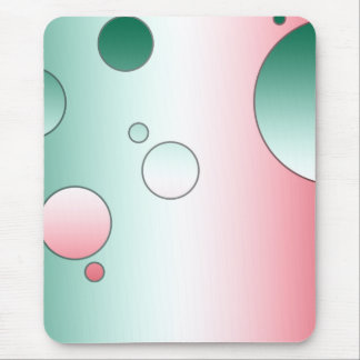Digital-Pop-Kunst: Flaggen-Farben von Mexiko Mousepads