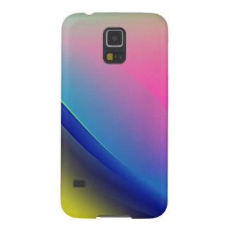 Digital-Radialfarbunschärfe-Glühen-Kunst-schönes Galaxy S5 Hülle