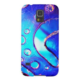 Digital-Radialfarbunschärfe-Glühen-Kunst-schönes Hülle Fürs Galaxy S5