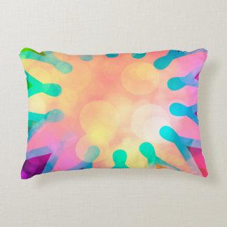Digital rainbow color motif deko kissen