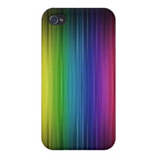 Digital-Regenbogen-Speck-Kasten iPhone 4/4S Cover